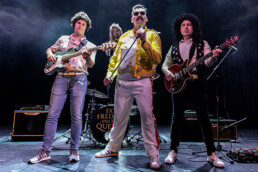 Image of Fat Freddie and the Queens in stage